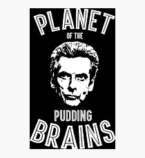 a planet of the pudding Photographic Print