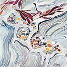 Pebble Beach Tafoni by Carrie Alyson