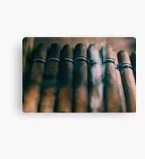 Cuban Cigars Canvas Print