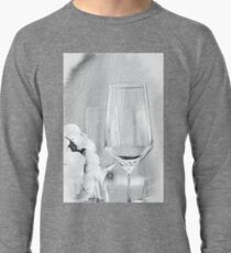 Charcoal Drawing; Party Setting with Bokeh Background Lightweight Sweatshirt