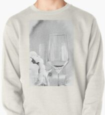 Charcoal Drawing; Party Setting with Bokeh Background Pullover