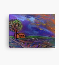 The landscape  Canvas Print