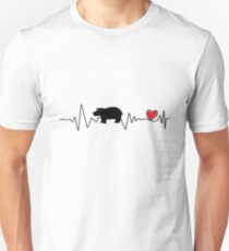 Team Fiona Baby Hippo Liebe Hippopotamus Slim Fit T-Shirt