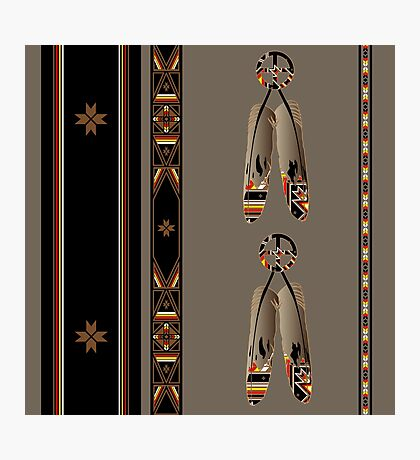 Lakota Design Photographic Print