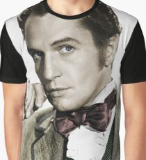 Young Vincent Price Graphic T-Shirt