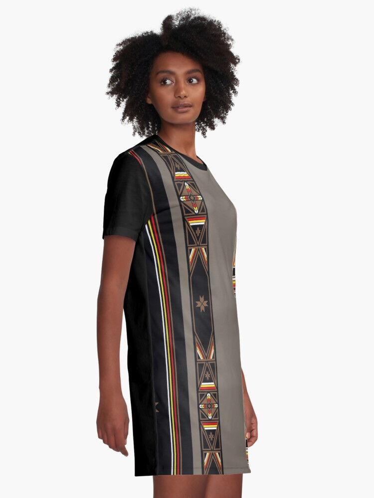 Alternate view of Lakota Design Graphic T-Shirt Dress
