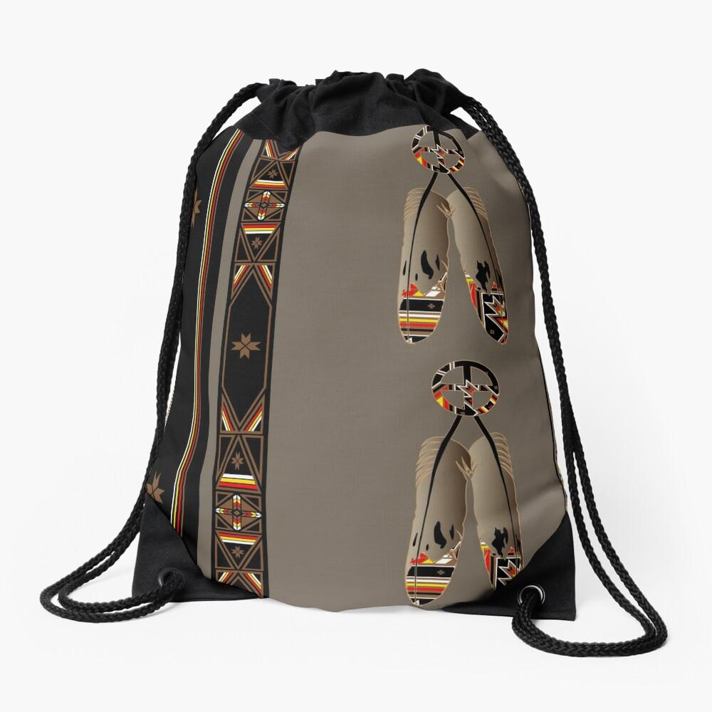 Lakota Design Drawstring Bag