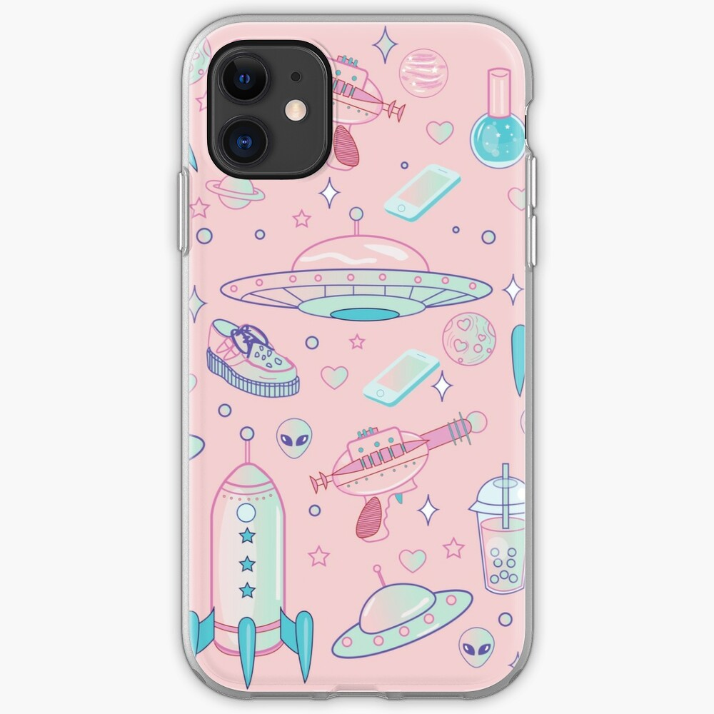 Galaxy Babe Pattern iPhone Case & Cover