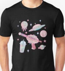 Galaxy Babe Pattern T-Shirt