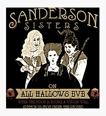 sanderson sisters Photographic Print