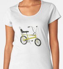 CHOPPER BIKE- Cool, iconic, graphic stylish 1970s bicycle Women's Premium T-Shirt