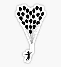 Balloons of love Sticker