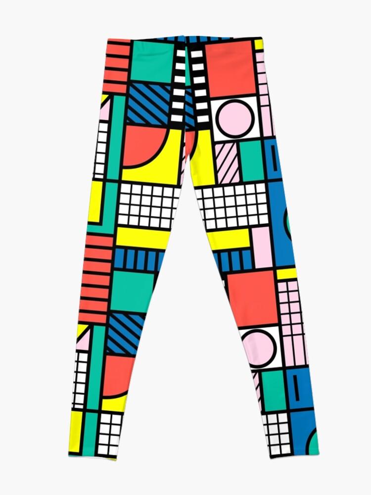 Alternate view of Memphis Color Block Leggings