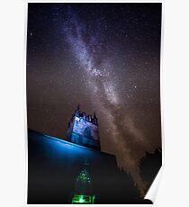Lorton Church Milky Way Poster