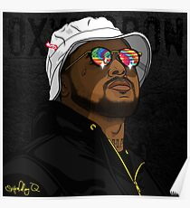 Schoolboy Q - Bucket hat and glasses Poster