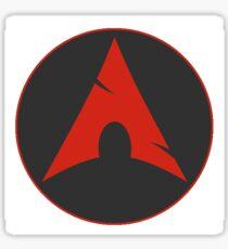 Archlinux red Sticker