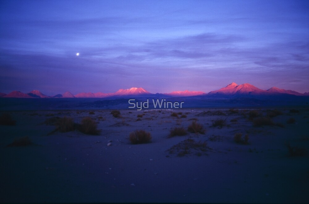 Atacama sunset by Syd Winer