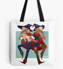 taako and lup || the adventure zone Tote Bag