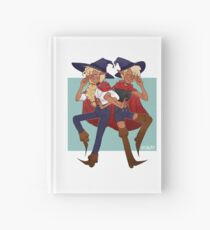 taako and lup || the adventure zone Hardcover Journal