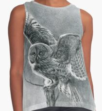 Great Grey Contrast Tank