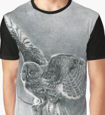 Great Grey Graphic T-Shirt
