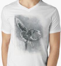 Great Grey Men's V-Neck T-Shirt