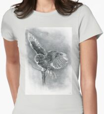 Great Grey Women's Fitted T-Shirt