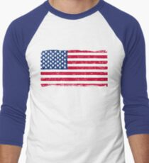 American Flag - USA Vintage Retro Style T-Shirt