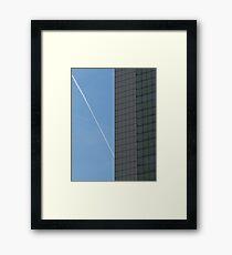 Contrails... Framed Print