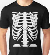 Human Skeleton Funny T- shirt Unisex T-Shirt