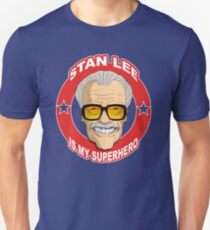 STAN LEE IS MY SUPERHERO- Comic Book Fan Boy T-Shirt