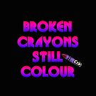 Broken Crayons by Kestrelle