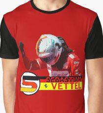 Sebastian Vettel #2017 Graphic T-Shirt