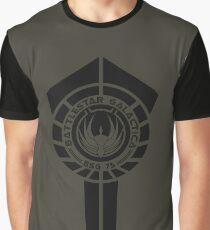 battlestar galactica logo - So Say We All Graphic T-Shirt