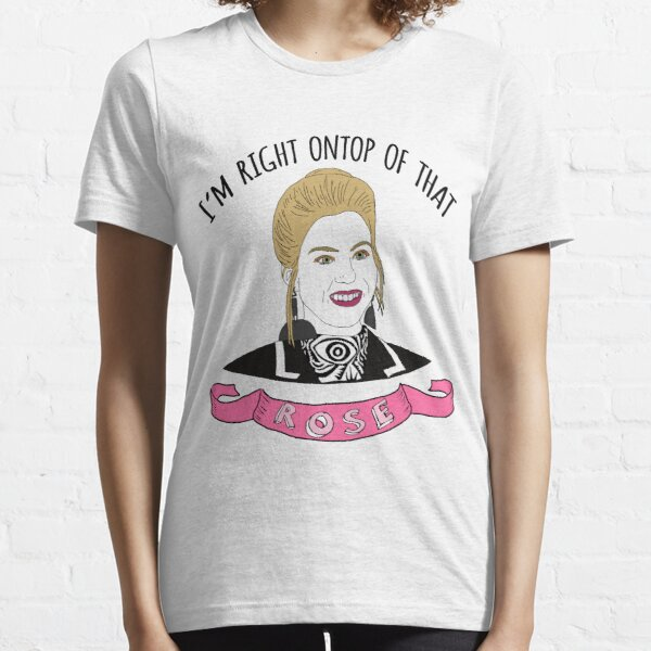 I'm Right Ontop Of That Rose! (Pink) Essential T-Shirt