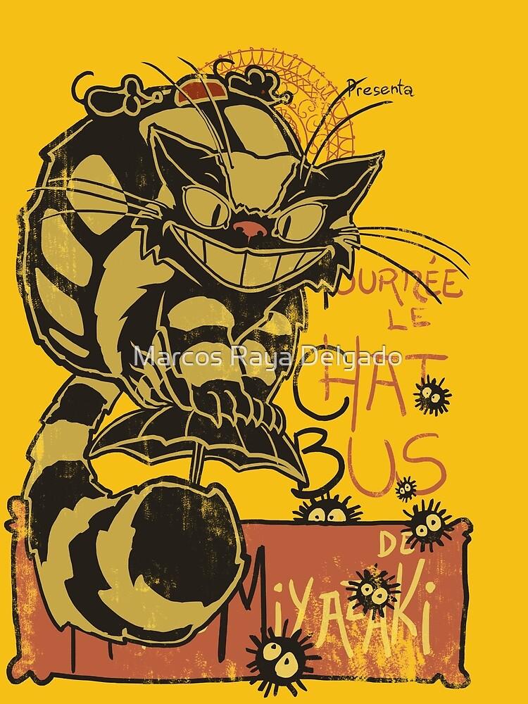 Nekobus, le Chat Noir de DibujarBien
