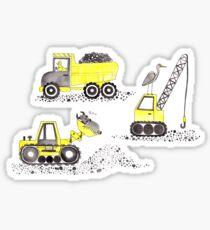 Construction Pun! Sticker