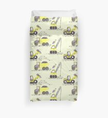 Construction Pun! Duvet Cover