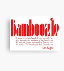 Bamboozle - a quote Canvas Print