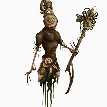 Tribal Guardian by EnchantersBlood