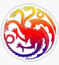 Game Dragon Series TV Sticker