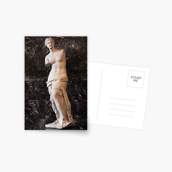 Treasures Of The Louvres - Venus de Milo ©  Postcard