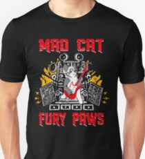 Mad Cat Fury Paws T-Shirt