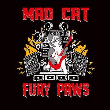 Mad Cat Fury Paws by sandysayschill
