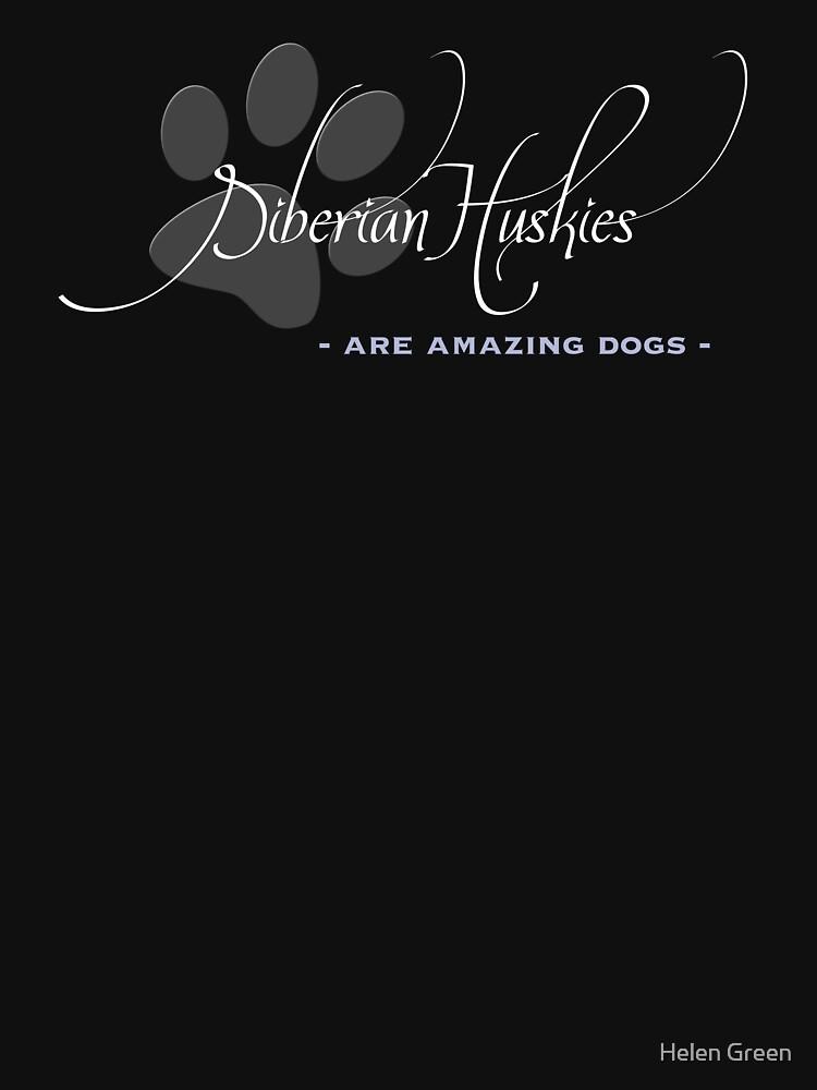 Siberian Husky - dark colours by HelenGreen