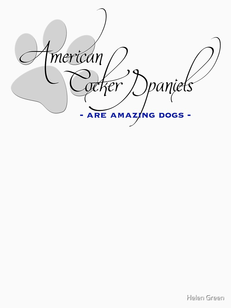 American Cocker Spaniel - are amazing dogs by HelenGreen