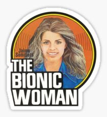 THE BIONIC WOMAN / DOLL TRIBUTE Sticker