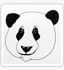 Panda Illustration Sticker