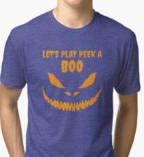 Halloween: Peek A Boo Tri-blend T-Shirt