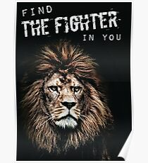 Find The Fighter In You Poster
